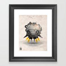 Antigravity Prototype V-3.03 Framed Art Print