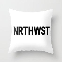 PNW North West - Oregon - Washington Throw Pillow