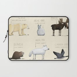 Canadian Animals Laptop Sleeve