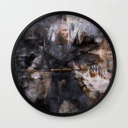 unconquerable ragnar Wall Clock