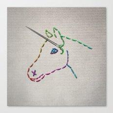 unicorn Canvas Print