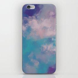 Smoke bomb- abstract digital art iPhone Skin
