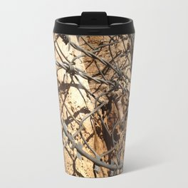 Barbwire tree Travel Mug