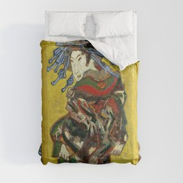 "Vincent van Gogh ""The Courtesan (after Eisen)"" Comforters"