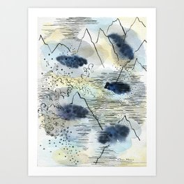 Water in all its forms Art Print