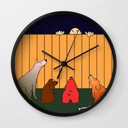 At The Bad Time On The Bad Place Wall Clock