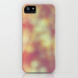 Bokeh background 102 iPhone Case