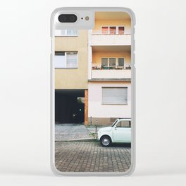 vintage car II. Clear iPhone Case