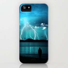 Storms Coming... iPhone Case
