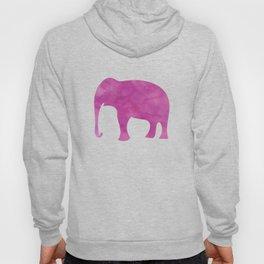 Watercolor Elephant Stampede Pretty Pattern Hoody