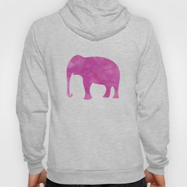 Watercolor Elephant Stampede Pretty Pattern Hoody