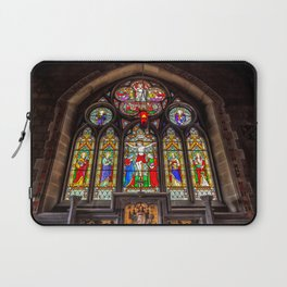 Ancient Stained Glass Laptop Sleeve