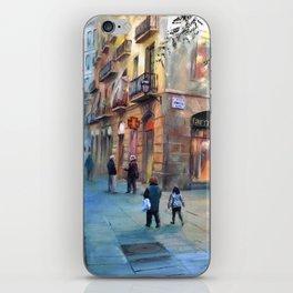 Urbanscape of Barcelona iPhone Skin