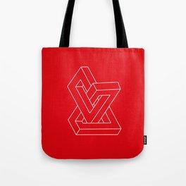 Optical illusion - Impossible figure Tote Bag