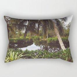 Naples Caribbean Gardens Rectangular Pillow