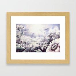 Il campo Framed Art Print
