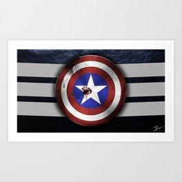 American Shield Art Print