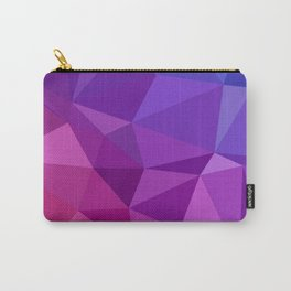 Geometric Abstract Art Pattern Two Carry-All Pouch