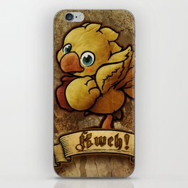 Chocobo Kwe ! iPhone Skin