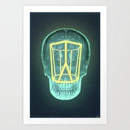 Think Outside the Scutoid Art Print