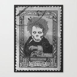 Deadhead Stamp Canvas Print