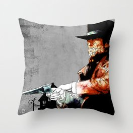 Preacher Throw Pillow