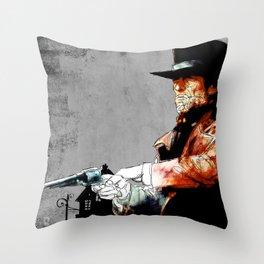 Preacher Throw Pillow