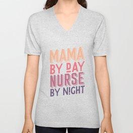 Mama Nurse Unisex V-Neck