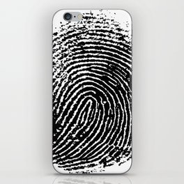 Fingerprint iPhone Skin