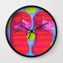 SUMMER FLIP FLOPS! Wall Clock