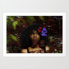 Char in a Bush Art Print