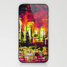Minneapolis Skyline Reflection iPhone & iPod Skin