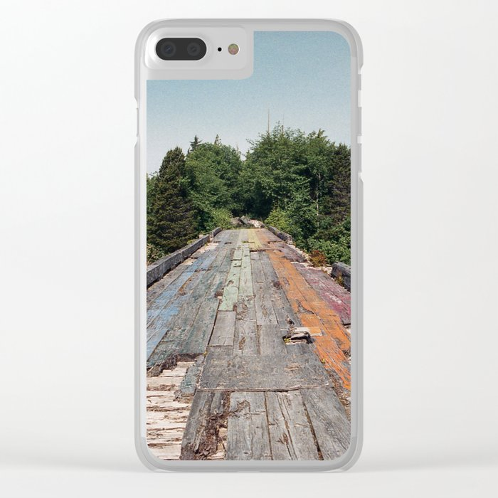 Rainbow Bridge Clear iPhone Case