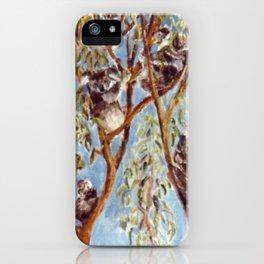 KOALA BEARS. AUSTRALIA          by Kay Lipton iPhone Case