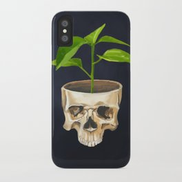 Think Green iPhone Case