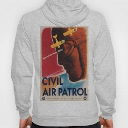 Vintage poster - Civil Air Patrol Hoody