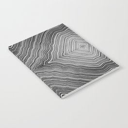 Abstract #9 - IX - High Contrast Notebook