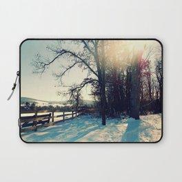 Winter's Blanket Laptop Sleeve