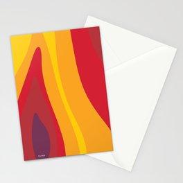 SALAMANDER- FIRE Stationery Cards