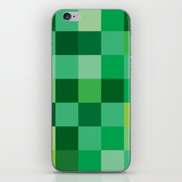 Squares of Luck iPhone Skin