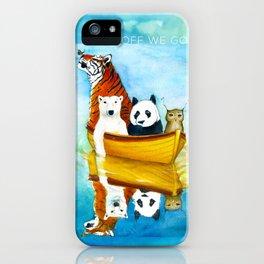 Herbert at Sea iPhone Case