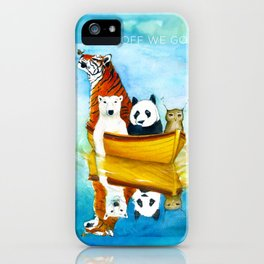 Herbert at Sea iPhone Case