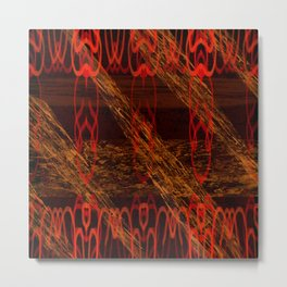 Autumn Tribal II Metal Print