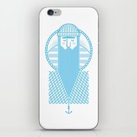 sailor iPhone & iPod Skins featuring Sailor by marcos bernardes