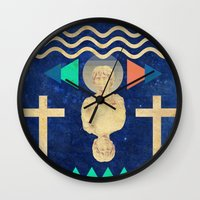 hercules Wall Clocks featuring HERCULES by Diego Ascoli