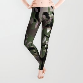 Camo Camo, and the art of disappearing. Leggings