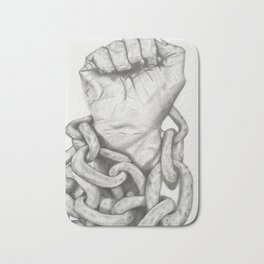 Chained Bath Mat