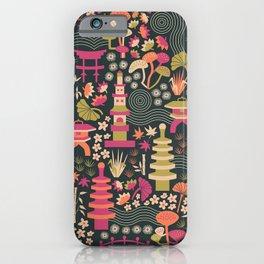 Zen Garden Retreat iPhone Case