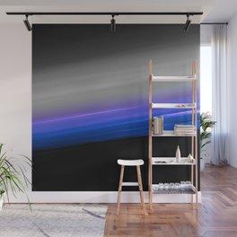 Blue Purple Grey Black Ombre Wall Mural