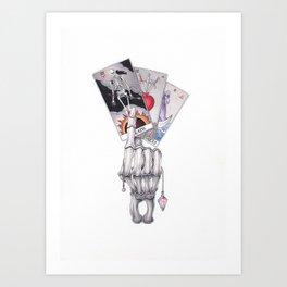 The Tarot Spread Art Print